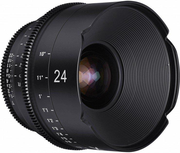 XEEN 24 mm T1,5 Cine pro Canon EOS