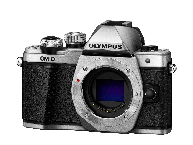 OLYMPUS E-M10 Mark II stříbrné tělo