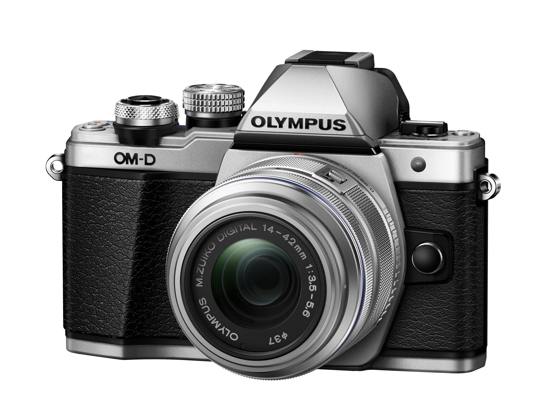 OLYMPUS E-M10 Mark II + 14-42 stříbrný CashBack 2 000 Kč