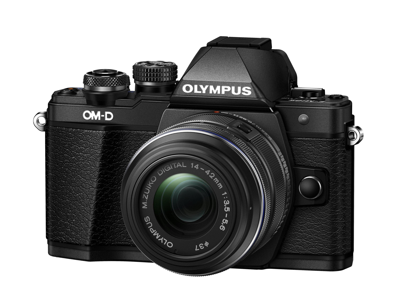 OLYMPUS E-M10 Mark II + 14-42 černý - získejte zpět 2700,- Kč