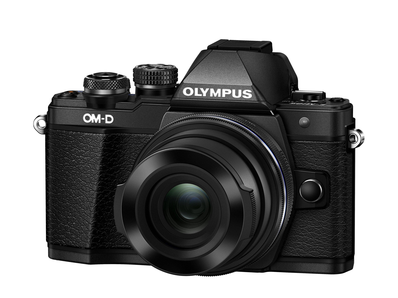 OLYMPUS E-M10 Mark II + 14-42 EZ černý