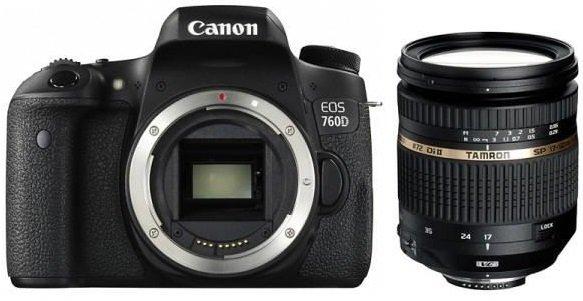 CANON EOS 760D + TAMRON 17-50 VC