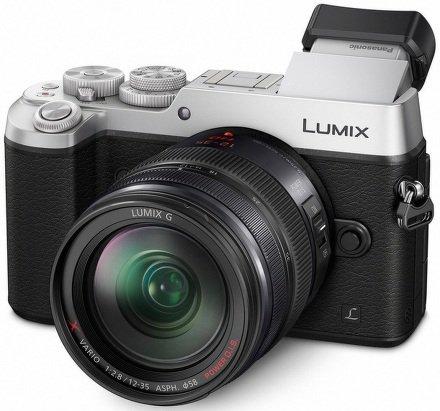 PANASONIC Lumix DMC-GX8 + 12-35mm stříbrný