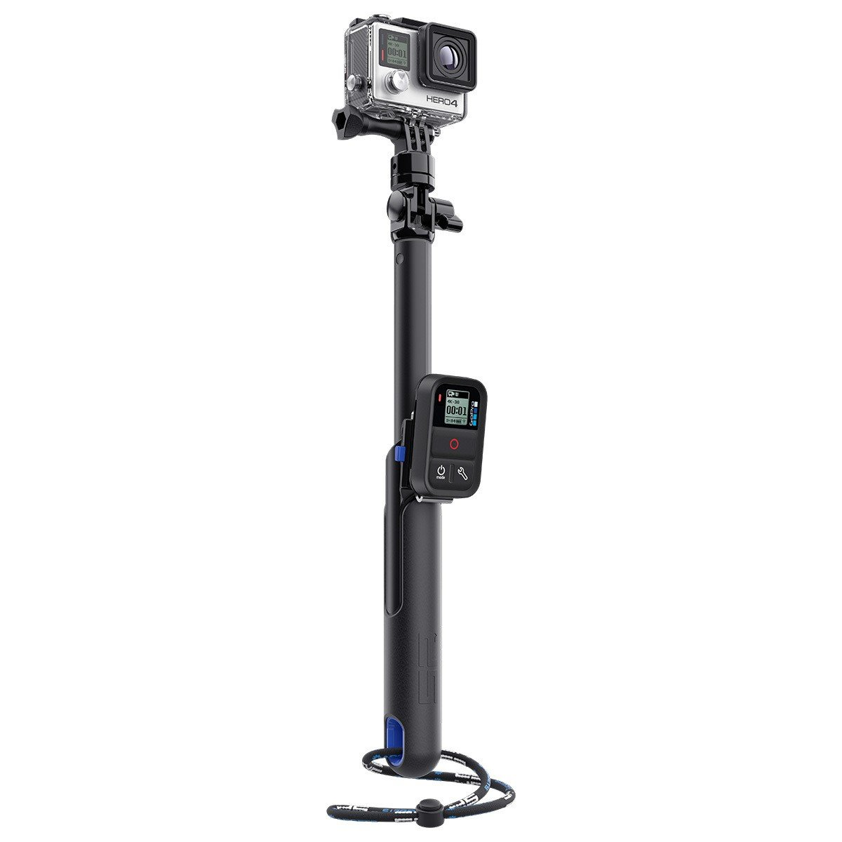 """SP GADGETS Smart pole 39"""" - teleskopický držák s klipem pro ovládání"""