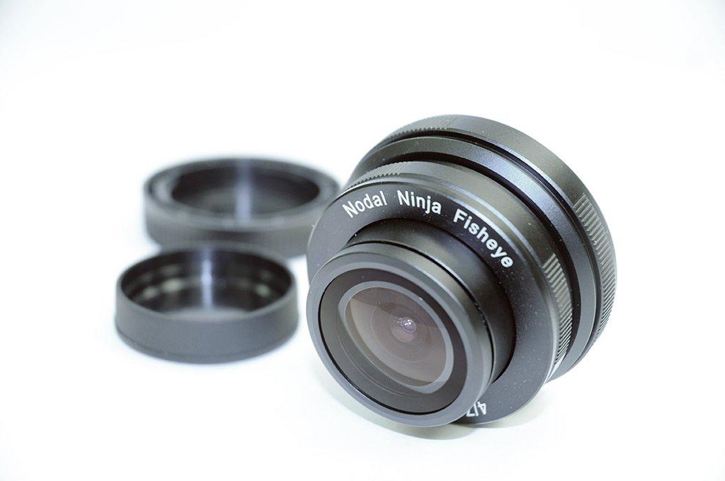 NODAL NINJA Objektiv 7,3 mm f/4 Fisheye pro Olympus/Panasonic MFT