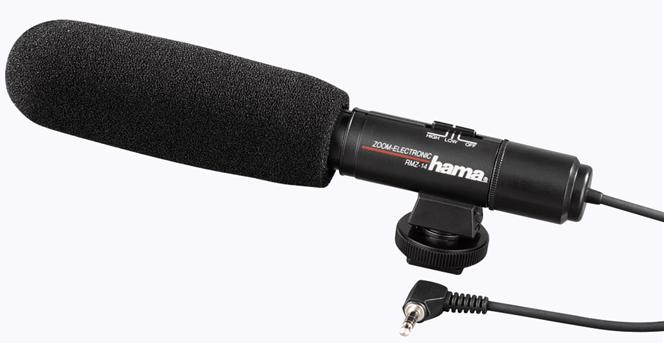 HAMA mikrofon směrový RMZ-14 stereo
