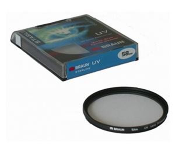BRAUN filtr UV 72 mm