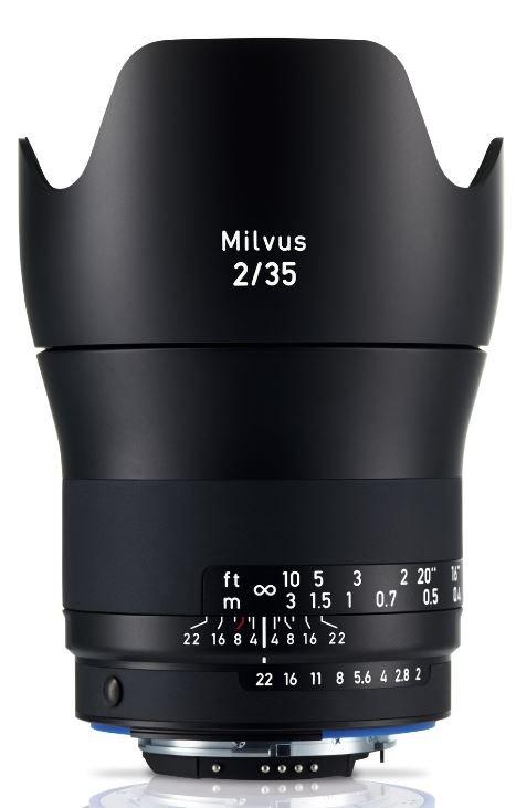 ZEISS Milvus 35 mm f/2 Distagon T* ZE pro Canon