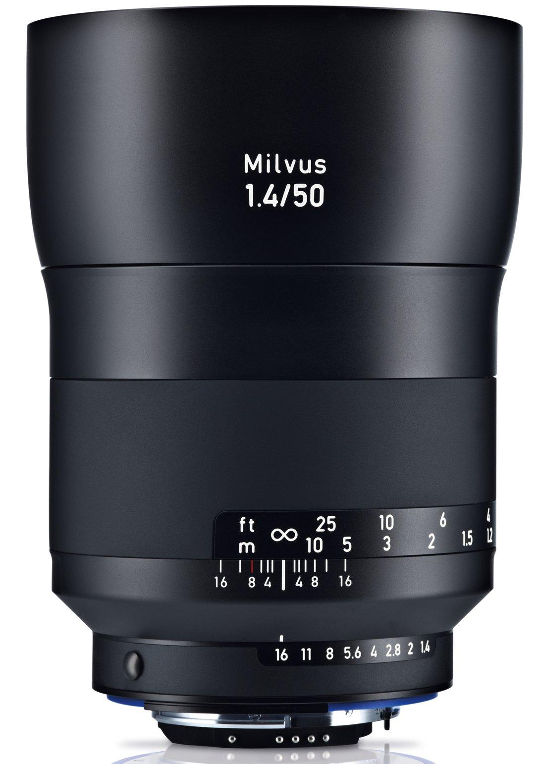 ZEISS Milvus 50 mm f/1,4 Planar T* ZE pro Canon + UV filtr zdarma