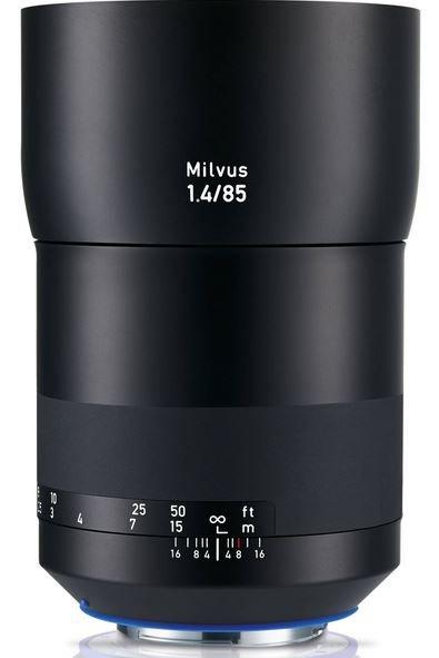 ZEISS Milvus 85 mm f/1,4 Planar T* ZF.2 pro Nikon