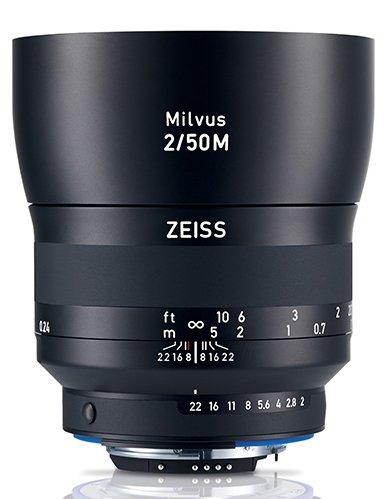 ZEISS Milvus 50 mm f/2 Makro-Planar T* ZE pro Canon