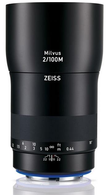 ZEISS Milvus 100 mm f/2 Makro-Planar T* ZE pro Canon