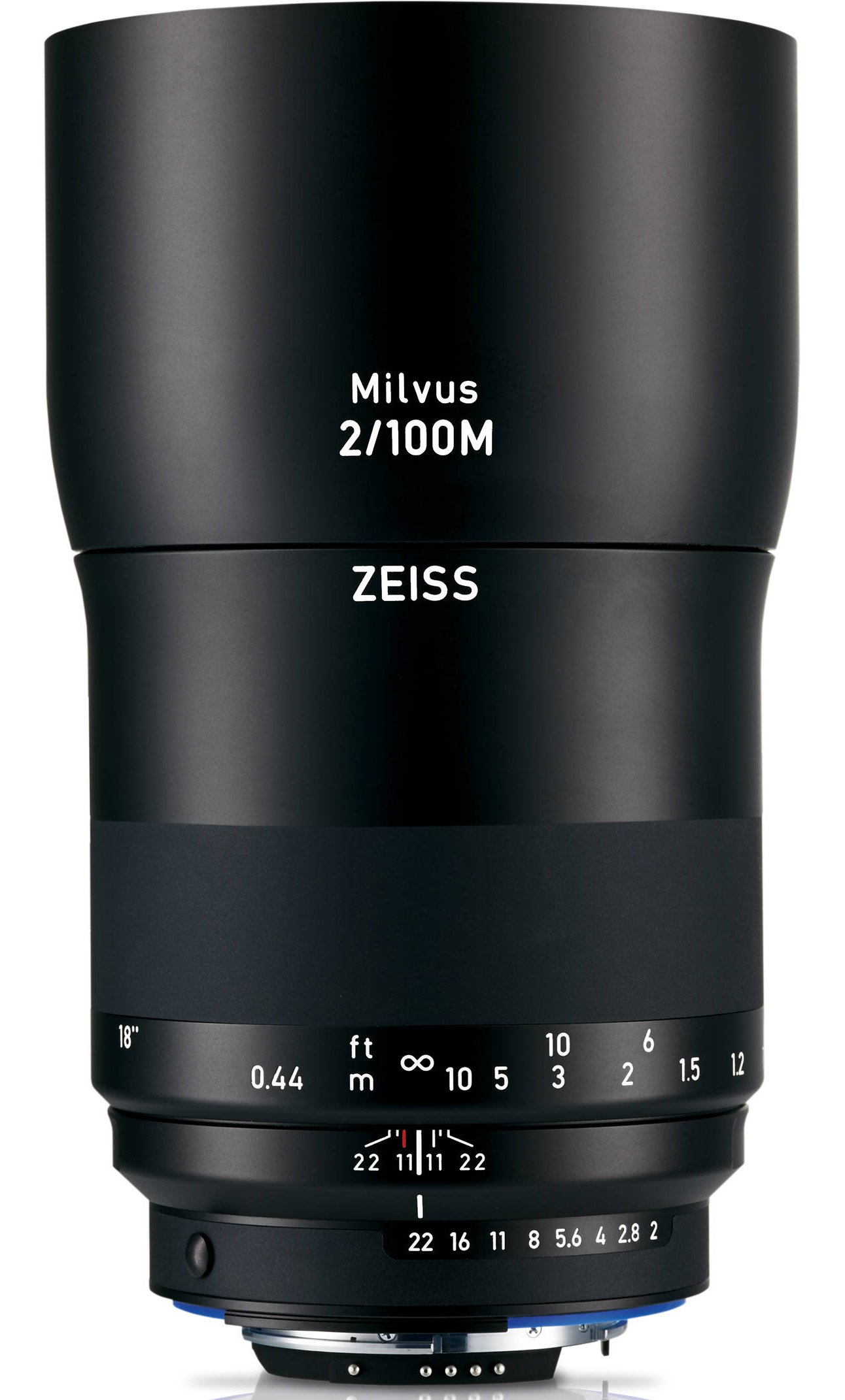 ZEISS Milvus 100 mm f/2 Makro-Planar T* ZF.2 pro Nikon