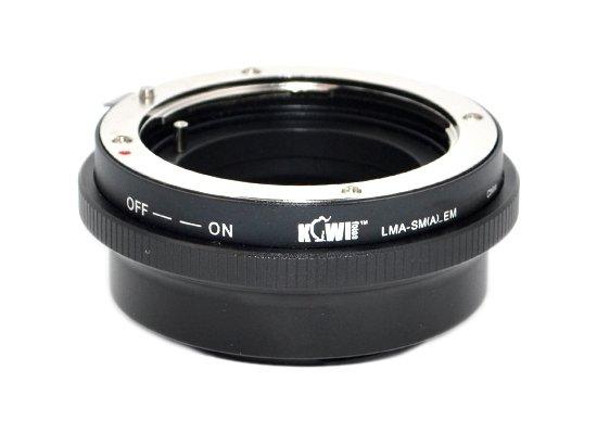 B.I.G. adaptér objektivu Sony A/Minolta Dynax na tělo Sony E