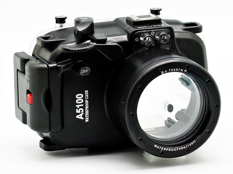 MEIKON podvodní pouzdro pro Sony A5100 + 16-50