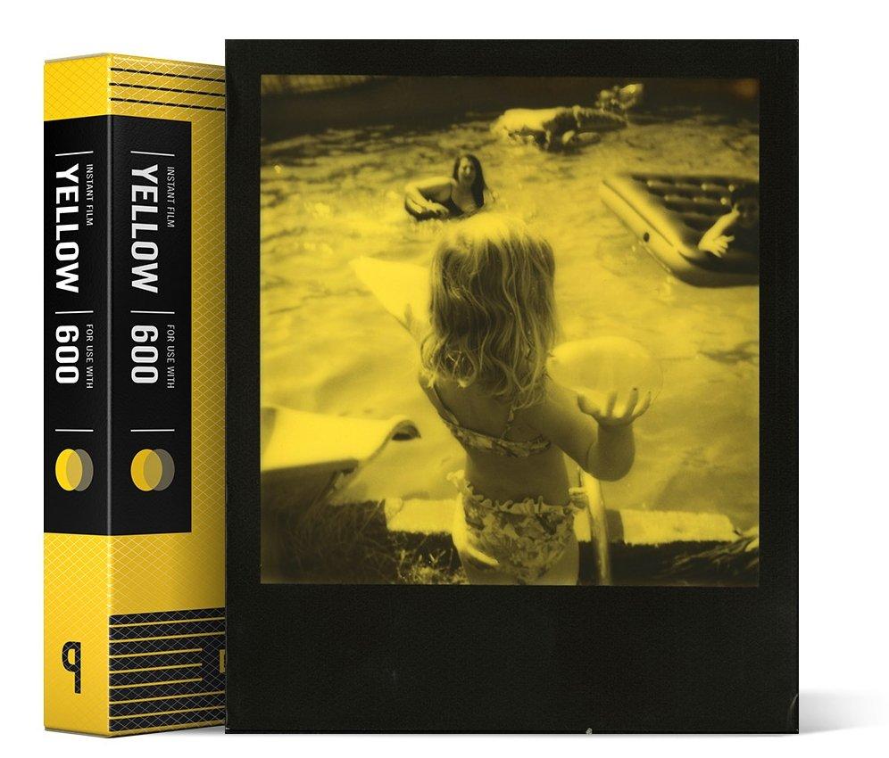 IMPOSSIBLE černožlutý duochrome film pro Polaroid 600/8 ks