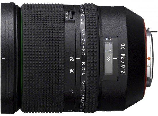 PENTAX 24-70 mm f/2,8 HD D-FA ED SDM WR