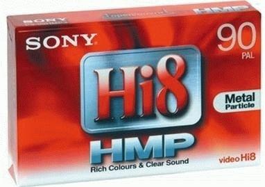 SONY P5-90HMP3 kazeta Hi8-90 minut