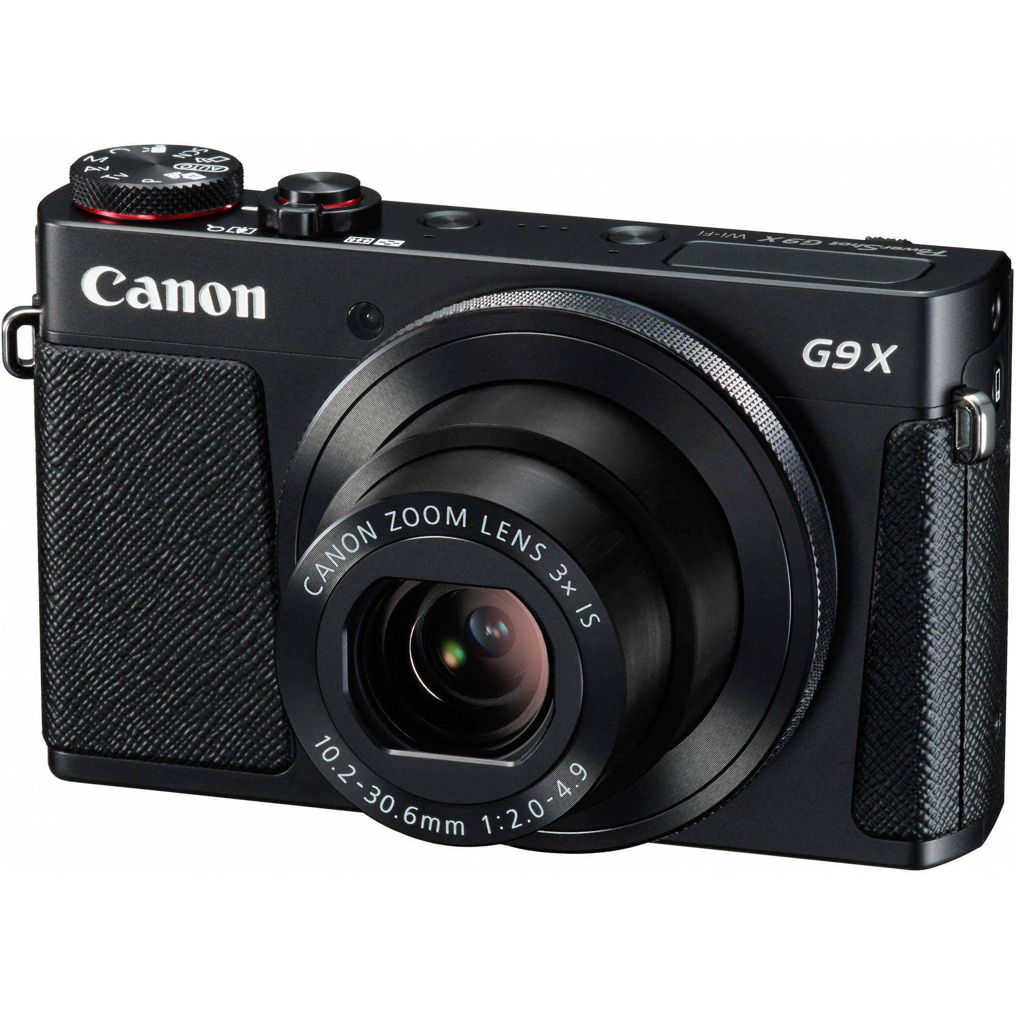 CANON PowerShot G9 X černý + získejte zpět 1000 Kč