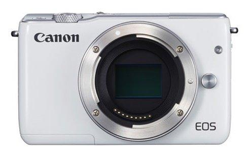 CANON EOS M10 bílý + získejte zpět 1000 Kč