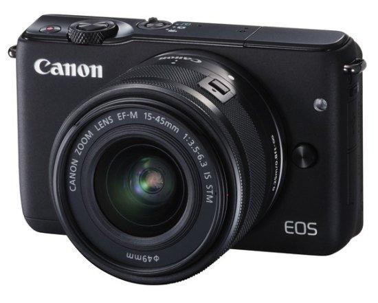 CANON EOS M10 + 15-45 mm STM černý