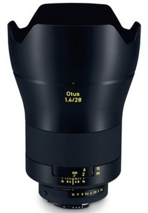 ZEISS Otus 28 mm f/1,4 Apo Distagon T* ZE pro Canon