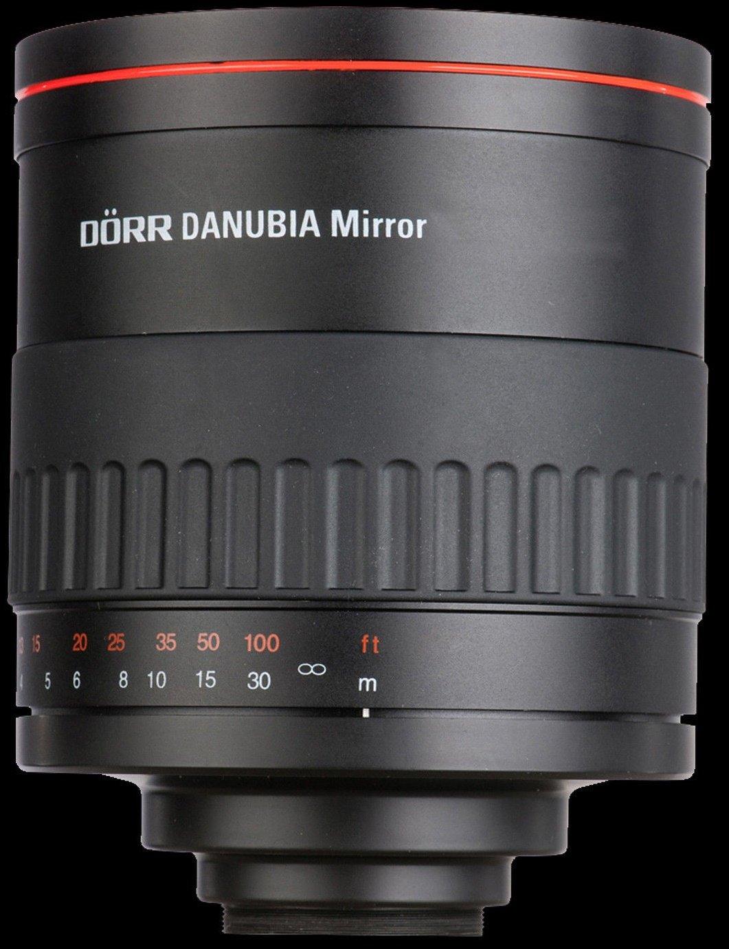DORR DANUBIA 500 mm f/6,3 Mirror MC pro Canon EOS