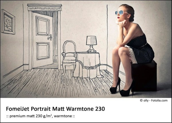 FOMEI Inkjet A4/50 FomeiJet Portrait Matt Warmtone 230
