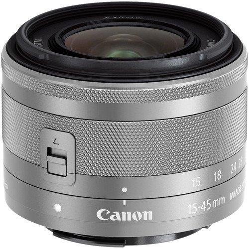CANON EF-M 15-45 mm  f/3,5-6,3 IS STM stříbrný