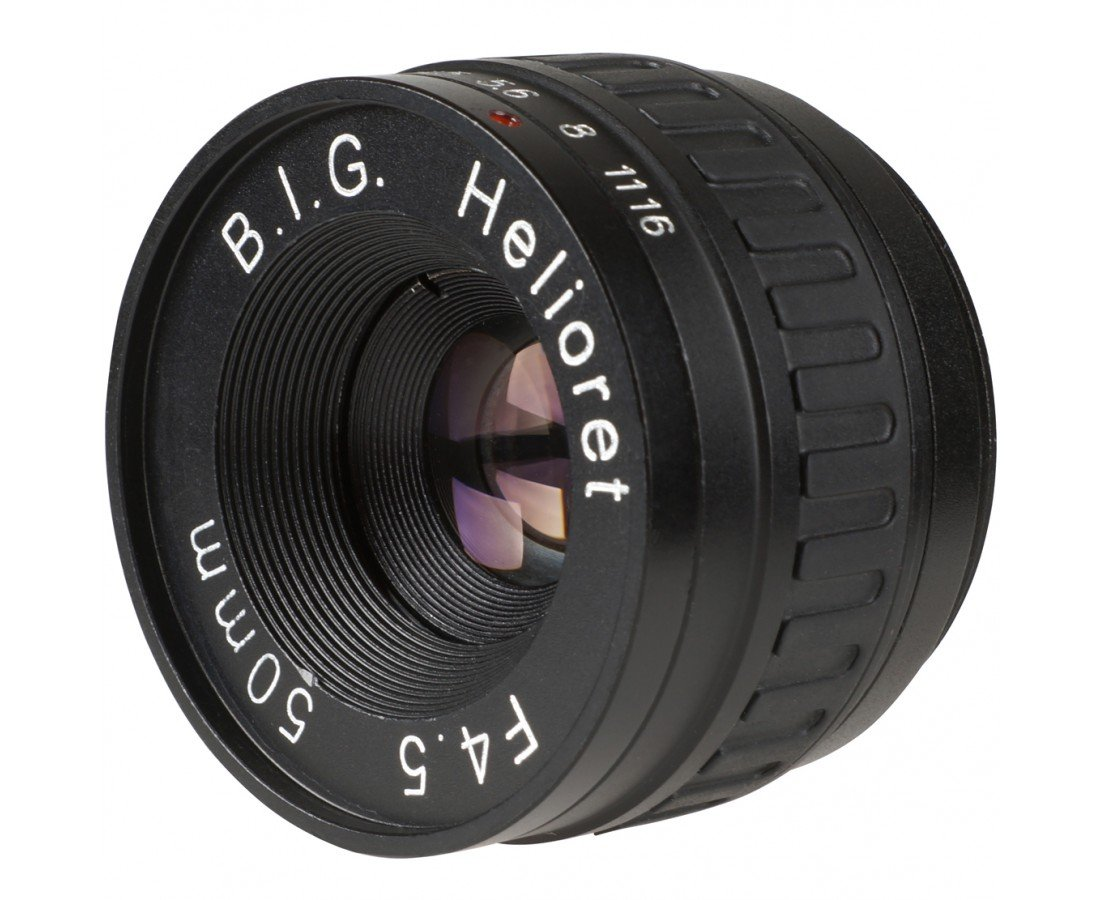B.I.G. Helioret 50 mm f/4,5 makroobjektiv M39