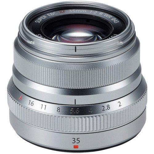 FUJIFILM XF 35 mm f/2 R WR stříbrný