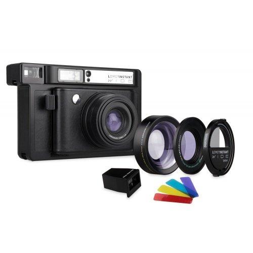 LOMOGRAPHY Lomo Instant Wide Combo - černý