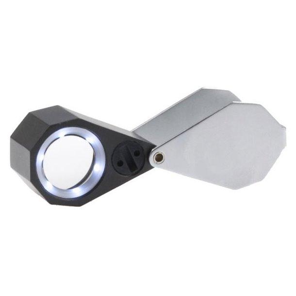 VIEWLUX lupa 10x21 s LED osvětlením