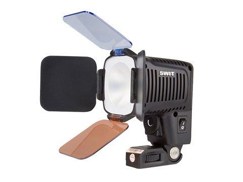 SWIT S-2041 LED videosvětlo + adapter pro akumulátory Canon BP 9xx