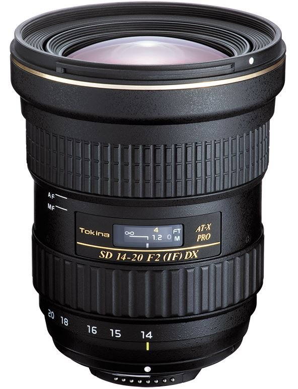TOKINA 14-20 mm f/2 AT-X SD PRO IF DX pro Canon