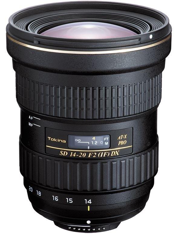 TOKINA 14-20 mm f/2 AT-X SD PRO IF DX pro Nikon