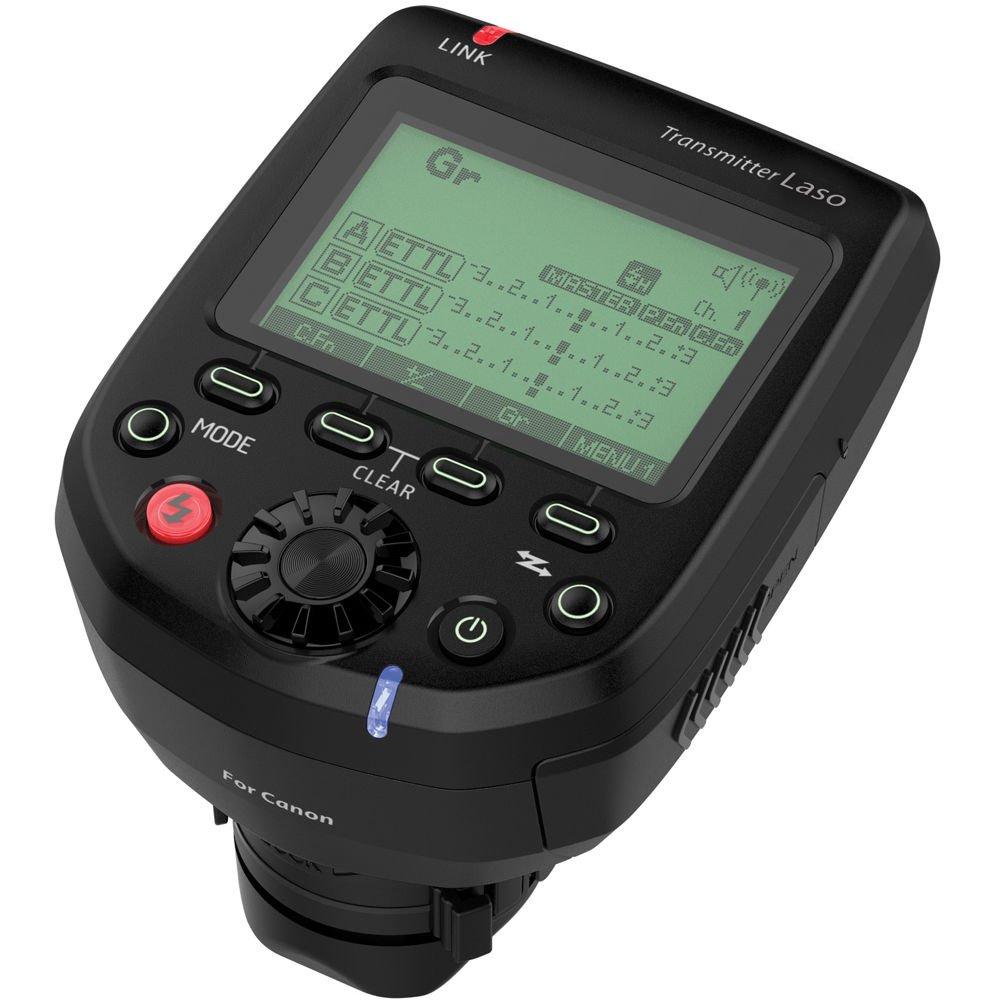 PHOTTIX LASO rádiový odpalovač TTL pro blesky Canon