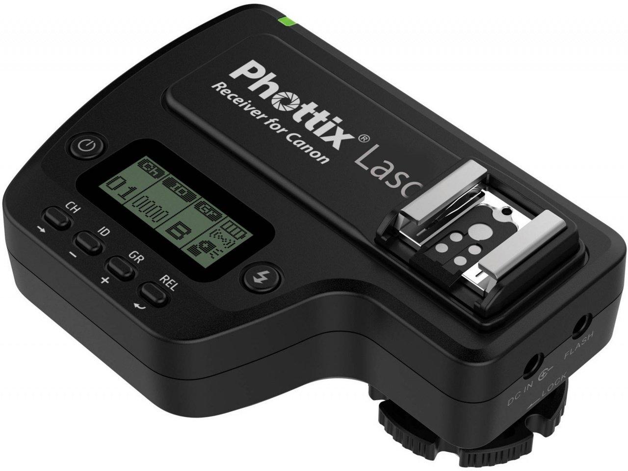 PHOTTIX LASO rádiový přijímač TTL pro blesky Canon