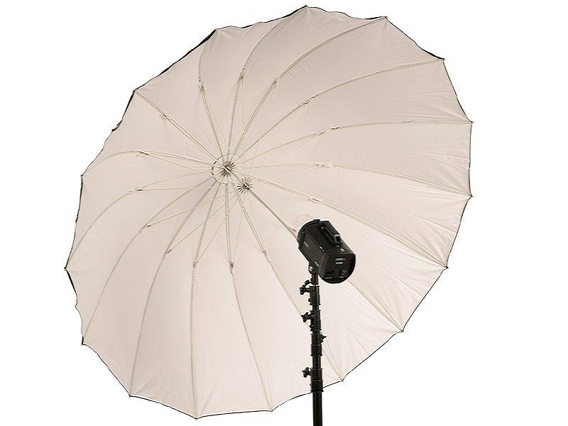 TERRONIC BW-185 Studiový deštník - černý/bílý