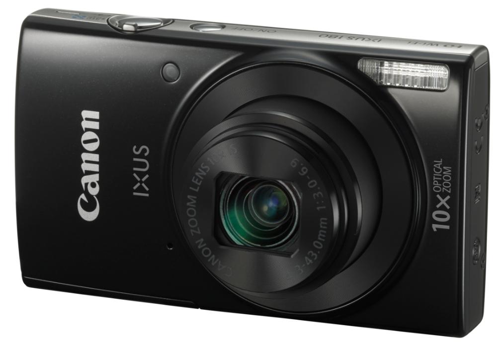 CANON IXUS 180 černý + SDHC8GB