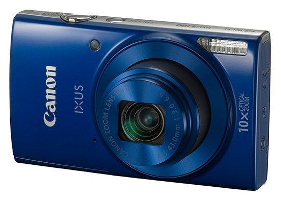 CANON IXUS 180 modrý
