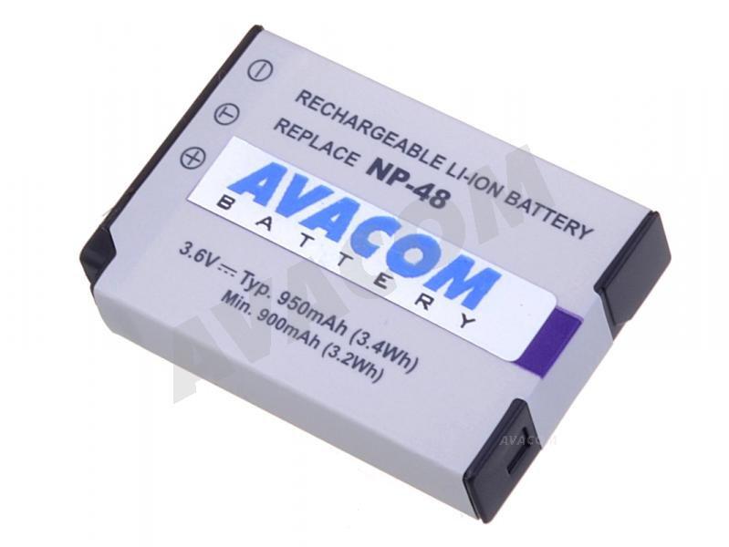 AVACOM Fujifilm NP-48 950mAh
