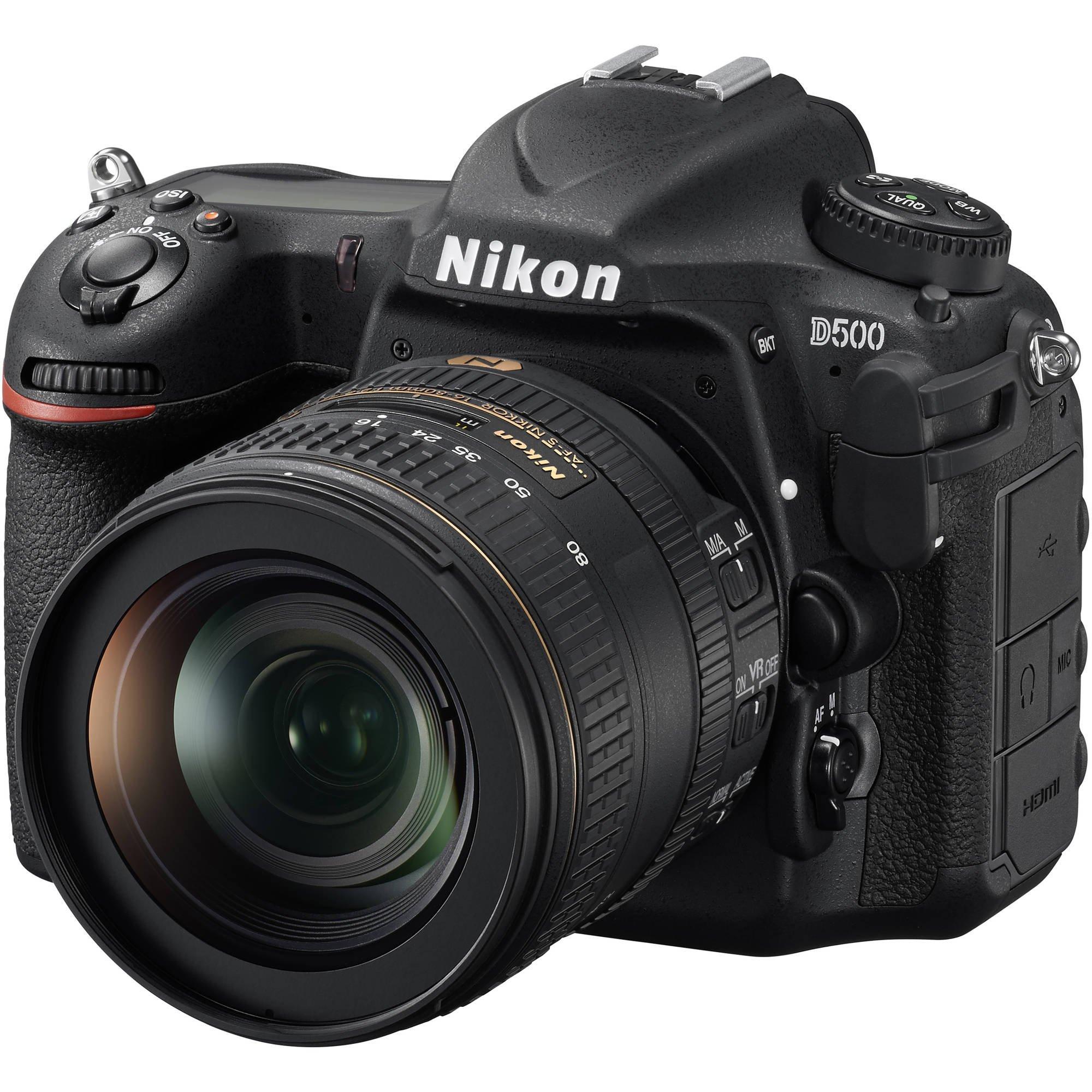 NIKON D500 + 16-80/2,8-4 E ED VR + NIKON PowerBank