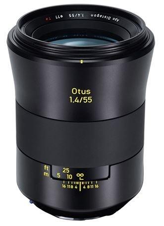 ZEISS Otus 55 mm f/1,4 Apo Distagon T* ZF.2 pro Nikon - rozbalený, vystavený