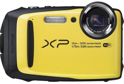 FUJIFILM FinePix XP90 žlutý + Fujifilm plovoucí řemen zdarma