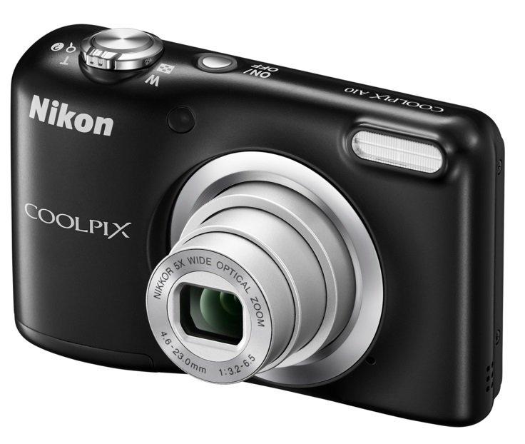 NIKON COOLPIX A10 černý + CAMLINK teleskopický držák pro selfie foto