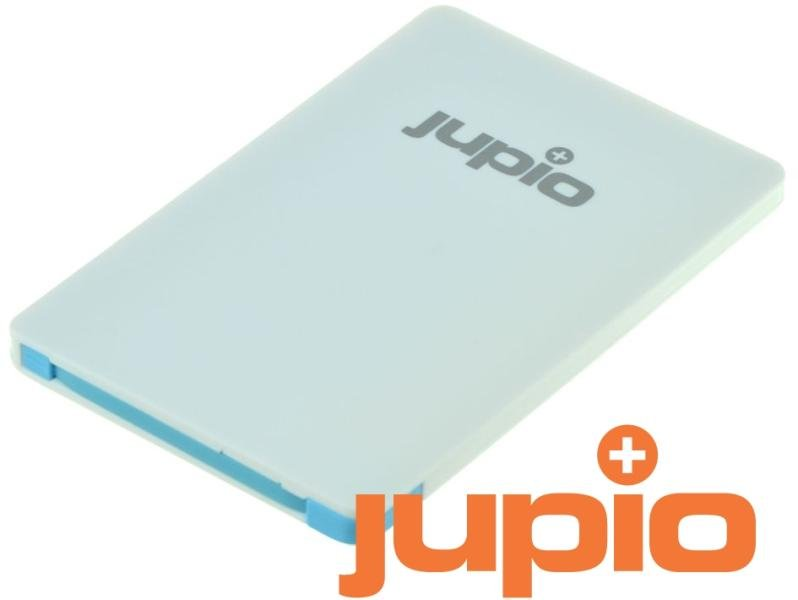 JUPIO Power Vault Card 2500 mAh externí zdroj