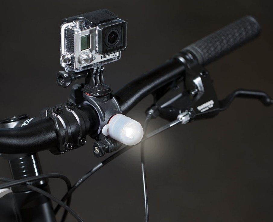 JOBY Action Bike Mount & Light Pack - držák na řidítka s blikačkou