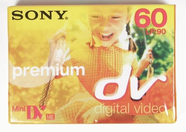 SONY DVM60PR kazeta MiniDV 60min.