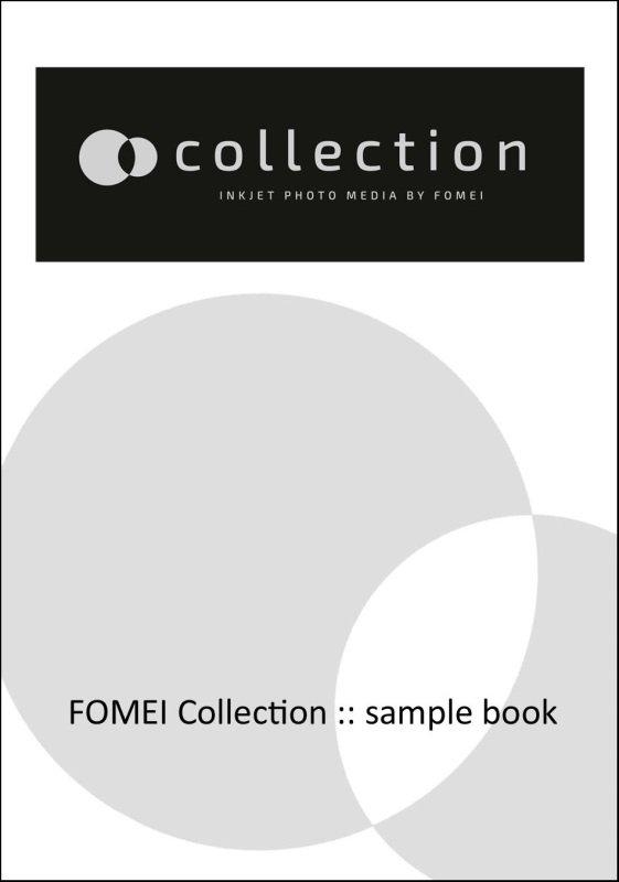 FOMEI vzorník Inkjet A5 fomei Collection